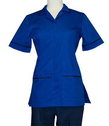 Style T Ladies Top Royal Navy Blue